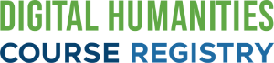 Digital Humanities Course Registry (logo)